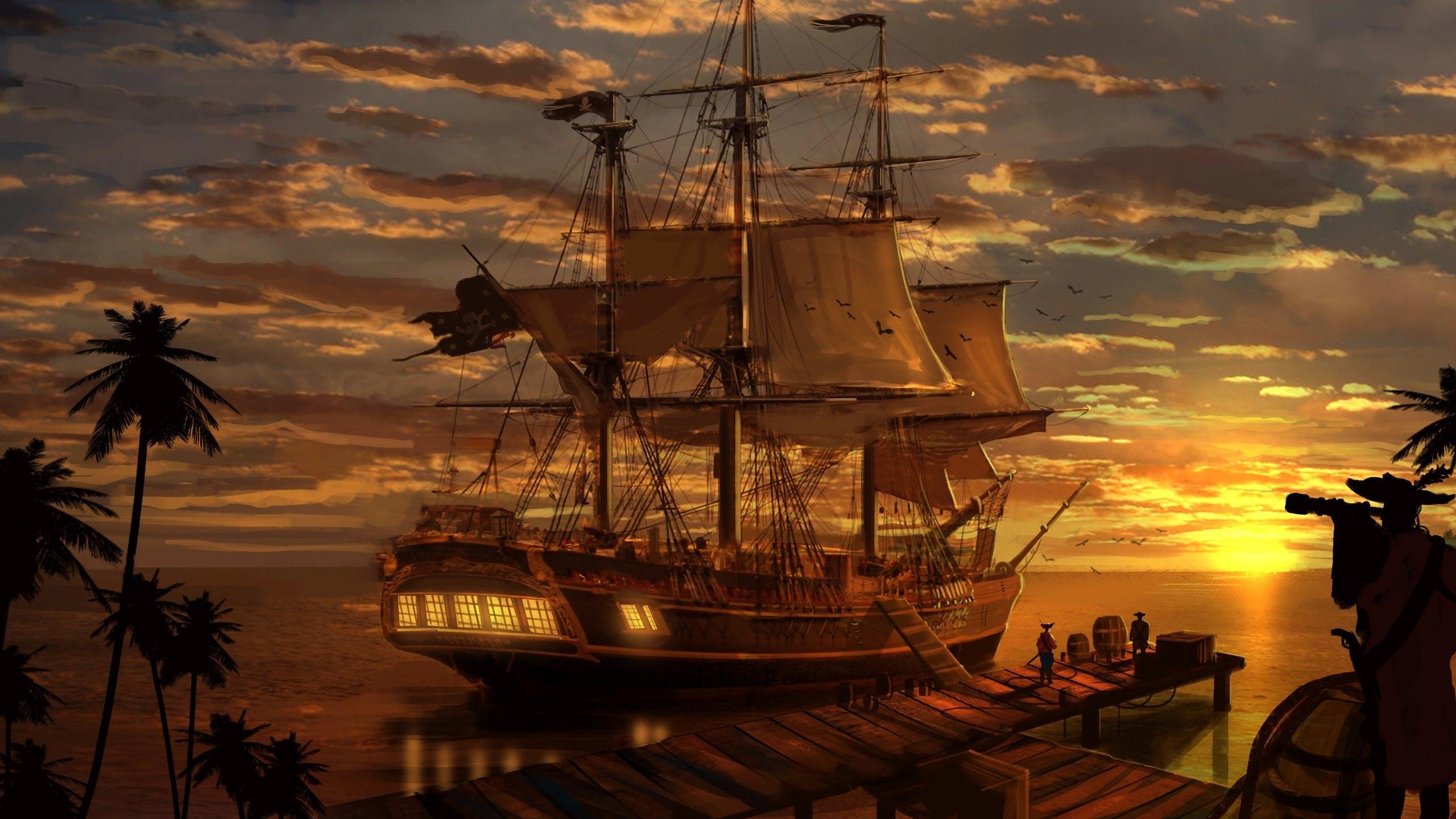 Le bateau de pirates escape land escape game saint - Image bateau pirate ...
