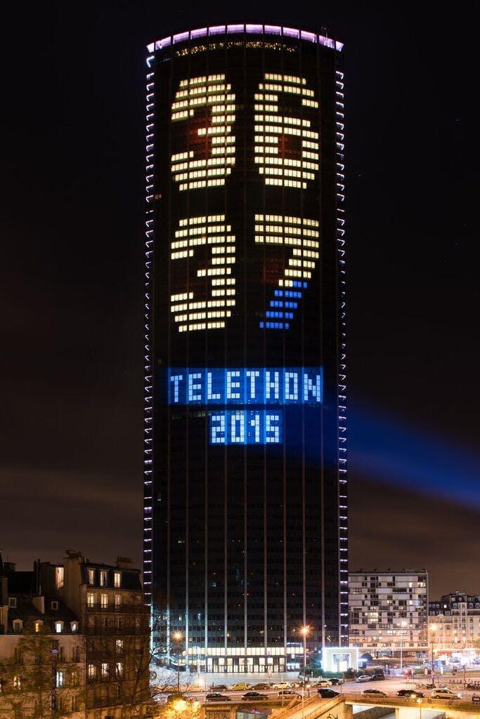 Tour Montparnasse Téléthon