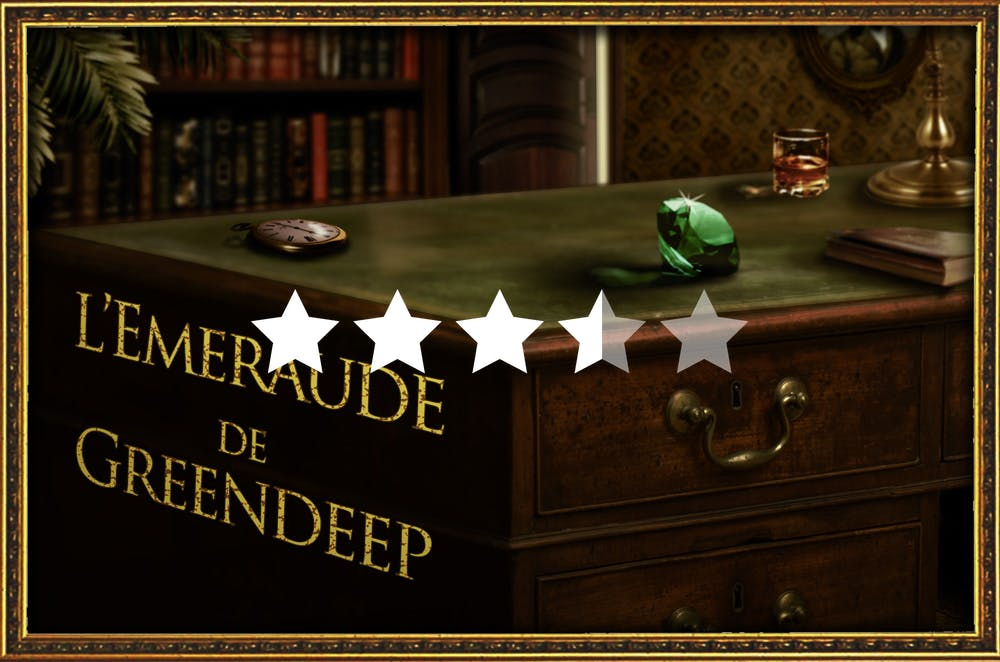 avis l 39 meraude de greendeep break out escape game chambery. Black Bedroom Furniture Sets. Home Design Ideas