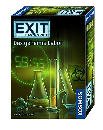 EXIT Das Spiel - Das geheime Labor