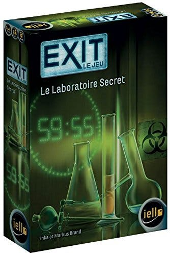 EXIT Le jeu - Le Laboratoire Secret