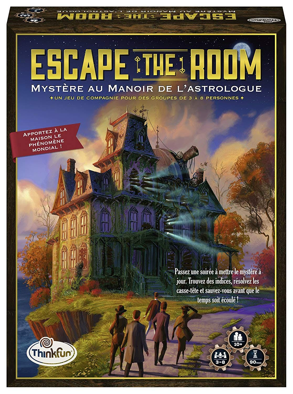 Escape The Room : Mystère au Manoir de l'Astrologue
