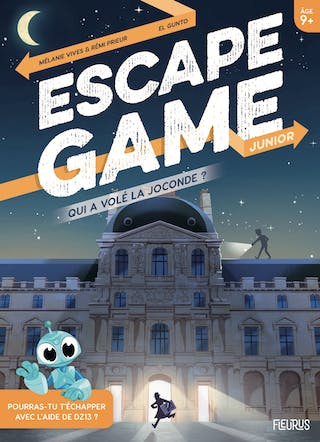 Escape Game Junior : Qui a volé la Joconde ?